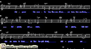 Zimrah partition : « Seigneur, fais couler » par Albert Frey