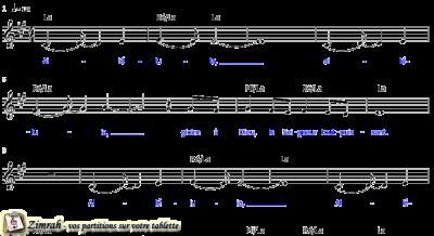 Zimrah partition : « Agnus Dei » par Michael W. Smith