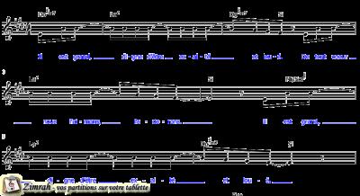 Zimrah partition : « Il est grand » par Kyle Rasmussen