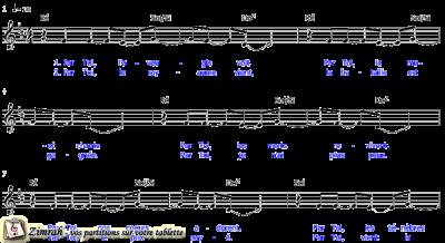 Zimrah partition : « Je suis libre » par Jon Egan