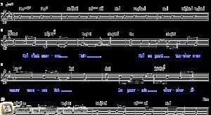 Zimrah partition : « Nul n'est comme Toi » par Lenny LeBlanc
