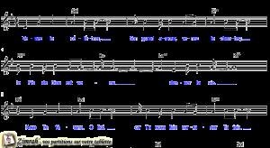 Zimrah partition : « Venez le célébrer » par Patricia Morgan,Dave Bankhead