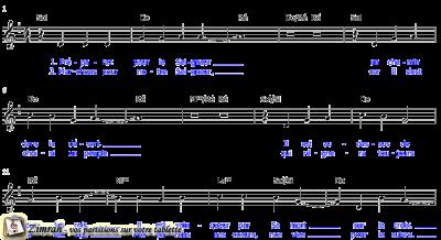 Zimrah partition : « Préparer pour le Seigneur » par Lothar Kosse