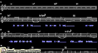 Zimrah partition : « Eternité » par Brian Doerksen