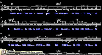 Zimrah partition : « J'entre dans Ton sanctuaire » par Sylvain Freymond