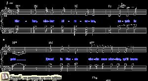 Zimrah partition : « Shalom » par Paul Wilbur