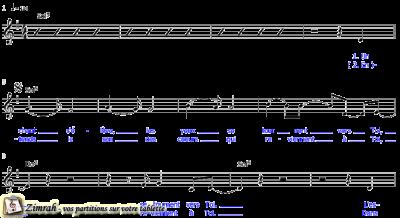 Zimrah partition : « Hosanna » par Paul Baloche, Benton Brown
