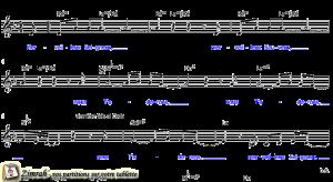 Zimrah partition : « Merveilleux Seigneur » par Dave Bell