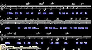 Zimrah partition : « Aux uns les chars » par Pat Berning, J-B Arthur
