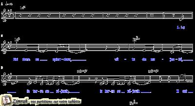 Zimrah partition : « Le Roi dans sa splendeur » par Chris Tomlin, Jesse Reeves, Ed Cash