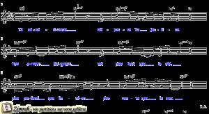 Zimrah partition : « Ta miséricorde » par Christophe Berly
