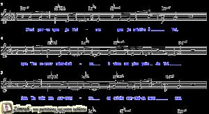 Zimrah partition : « Je m'offre à Toi » par Philippe Kiener, Emilie Hermenjat, Julien Gaillard, Matthieu Reymond, Jean-Daniel Fuehrer, Sara Wulliamoz