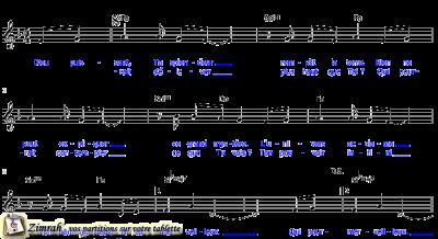 Zimrah partition : « Elyon » par Linda Panci-McGowen, Rolf Schneider
