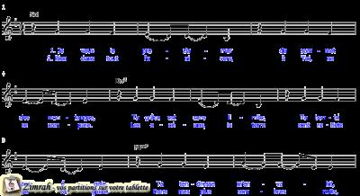 Zimrah partition : « Tu es bon (Je veux le proclamer) » par Brian Johnson, Jeremy Riddle