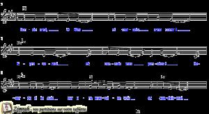 Zimrah partition : « Sonde-moi, O Dieu » par Elisabeth Bourbouze