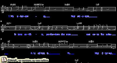 Zimrah partition : « Pas d'autre Dieu » par Markus Fuchs