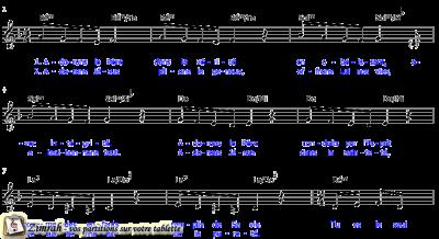 Zimrah partition : « Adorons le Père » par Sylvain Freymond