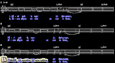Zimrah partition : « Béni soit le Nom » par Kevin Prosch, Danny Daniels