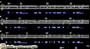 Zimrah partition : « Lève-Toi » par Joël Andres