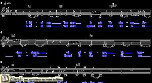 Zimrah partition : « Béni soit Ton nom » par Matt Redman, Beth Redman