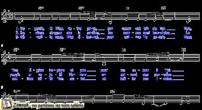 Zimrah partition : « Devant Ton autel » par Rolf Schneider