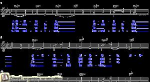 Zimrah partition : « Alléluia » par Joy Hjerstedt