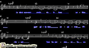Zimrah partition : « Un chant nouveau » par Pierre-Nicolas de Katow