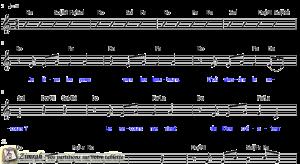 Zimrah partition : « Je lève les yeux » par Brian Doerksen