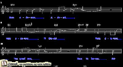 Zimrah partition : « Nous adorons Adonaï » par Jean-Luc Attias
