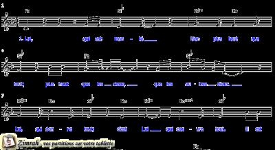 Zimrah partition : « Le plus haut » par Gabriel Alonso