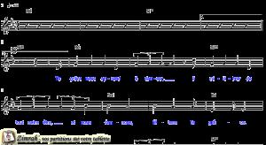 Zimrah partition : « Ta grâce nous apprend à danser » par Matt Redman