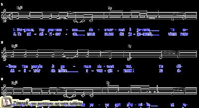 Zimrah partition : « Ouvre le ciel » par Rolf Schneider