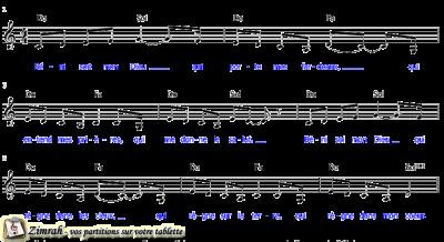 Zimrah partition : « Béni soit mon Dieu » par Don Cusic, Jackie Cusic