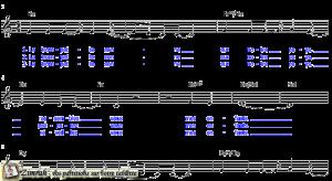 Zimrah partition : « La trompette sonne » par Corinne Lafitte