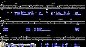 Zimrah partition : « Danse et chante » par Chris Christensen, Thierry Ostrini