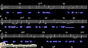 Zimrah partition : « Seigneur, par Ta douceur » par Graham Kendrick