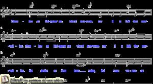 Zimrah partition : « Chantez au Seigneur un chant nouveau » par Pierre Van Woerden (book1} N°173)