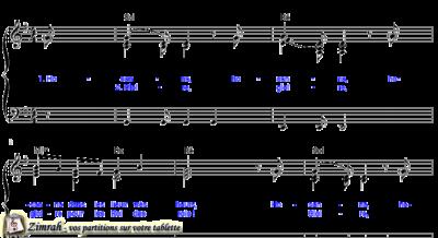 Zimrah partition : « Hosanna » par Carl Tuttle (book1} N°336)