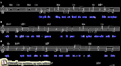 Zimrah partition : « La gloire du Seigneur » par Cyril Squire (book1} N°164)
