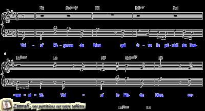 Zimrah partition : « Voici l'Agneau de Dieu » par Rolf Schneider (book1} N°284)
