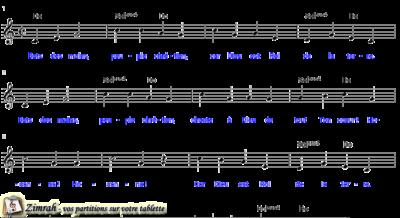 Zimrah partition : « Bats des mains » par Jimmy Owens (book1} N°254)
