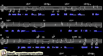 Zimrah partition : « Je veux danser de joie » par Dale Garratt (book1} N°323)