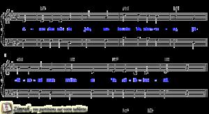 Zimrah partition : « Avec des cris de joie » par Equipe Timothée (book1} N°228)