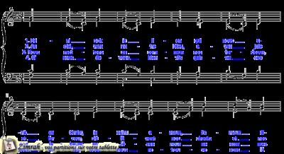 Zimrah partition : « Béni soit le lien » par Hans Georg Nägeli (book1} N°111)