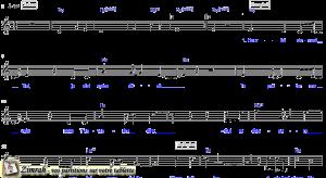 Zimrah partition : « Viens briller » par Simon Labonté (Sola Gratia N°8)