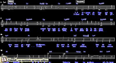 Zimrah partition : « Emmanuel » par Dan Luiten (Majestueux N°1)