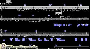 Zimrah partition : « Je Te chanterai » par Dan Luiten