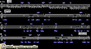 Zimrah partition : « Un souffle nouveau » par Dan Luiten (book1} N°4)