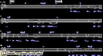Zimrah partition : « Reçois (nous chantons) » par Dan Luiten (book1} N°3)
