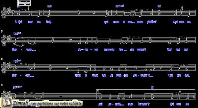 Zimrah partition : « Que est ce Roi ? » par Fabien Gutknecht (book1} N°1010)
